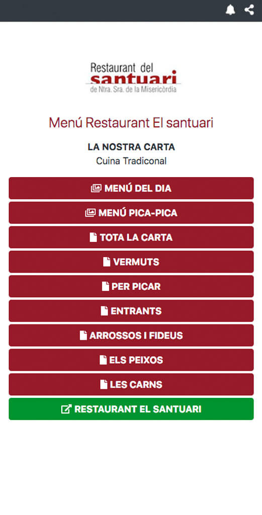 digitalizar carta restaurante